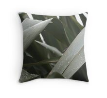 Droplets of water Throw Pillow