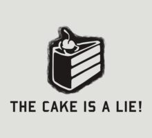 The Cake is a Lie Portal by Vascosnap