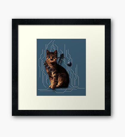 Cat-Bacca Framed Print