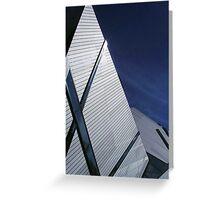 Libeskind's Crystal, Toronto Greeting Card