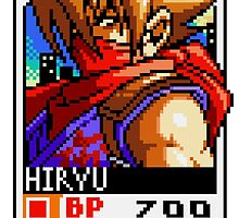 Strider Hiryu by Lupianwolf