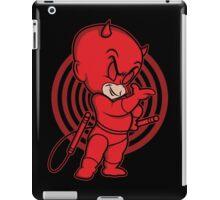 Blind Red Devil iPad Case/Skin