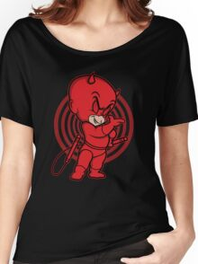 Blind Red Devil Women's Relaxed Fit T-Shirt