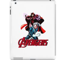 Avenger Twins - Scarlet Witch and Quicksilver iPad Case/Skin