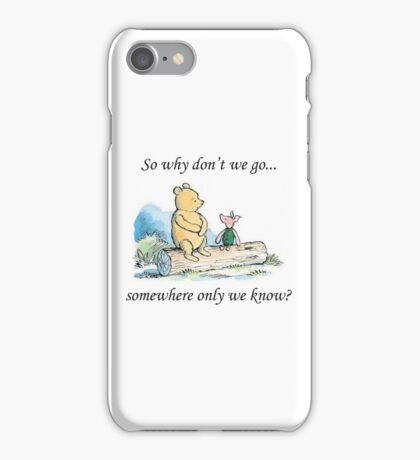 "Keane ""Somewhere Only We Know"" iPhone Case/Skin"