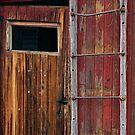 Old Wooden Caboose by CarolM