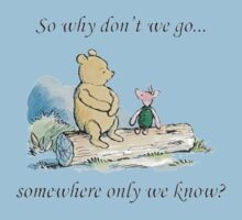 """Keane """"Somewhere Only We Know"""" Baby Tee"""
