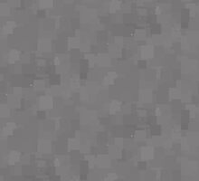 Steel Gray Square Pixel Color Accent by SaraValor