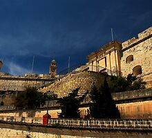 MAIN ENTRANCE TO SENGLEA by RayFarrugia