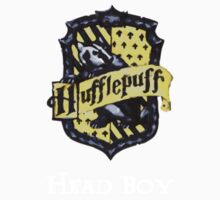 Hufflepuff Head Boy Kids Clothes
