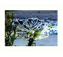 Chrystal Flower. Art Print