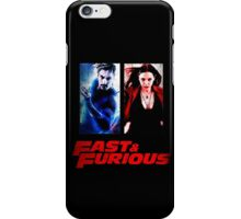 Scarlet Witch and Quicksilver iPhone Case/Skin