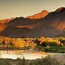 Orange River Sunrise by Thomas Peter