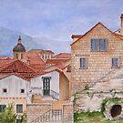 Dubrovnik, Croatia by Jeno Futo