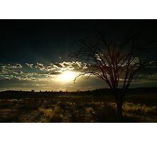Kalahari Sunset Photographic Print
