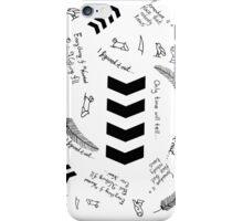 Liam Payne Tattoos  iPhone Case/Skin