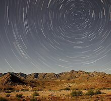 Richtersveld Startrails by Thomas Peter