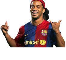 Ronaldinho by Enriic7