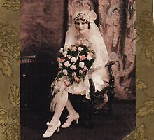MY MOTHERS WEDDING PICTURE   VANCOUVER 1929 by DIANEPEAREN