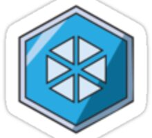 Merit - Glacier Sticker