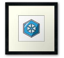 Merit - Glacier Framed Print