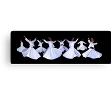 WHIRLING DERVISHES - ISTANBUL Canvas Print