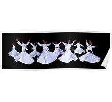 WHIRLING DERVISHES - ISTANBUL Poster