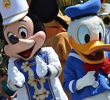 Disney Mickey Mouse Disney Donald Duck by notheothereye