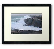 High Seas,Pt.Elliott, S.A. Framed Print