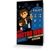 Super Doctor Who Greeting Card