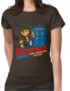Super Doctor Who Womens Fitted T-Shirt