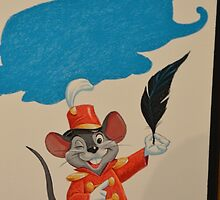 Disney Dumbo Disney Timothy Mouse by notheothereye