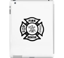 Firefighter Rescue iPad Case/Skin