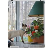 Stop and Smell the Flowers! iPad Case/Skin