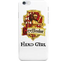 Gryffindor Head Girl iPhone Case/Skin