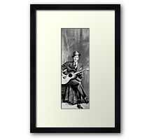 Portrait of Robert Johnson Framed Print