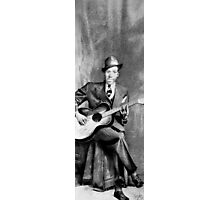 Portrait of Robert Johnson Photographic Print
