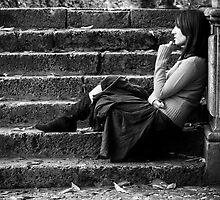 Pensive by JSReyes