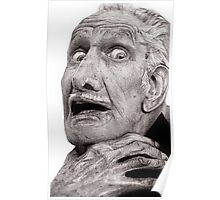 Portrait of Vincent Price Poster