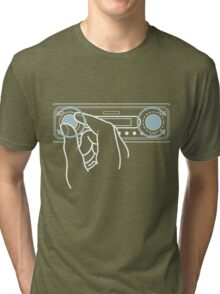 Don't touch the dial! Tri-blend T-Shirt