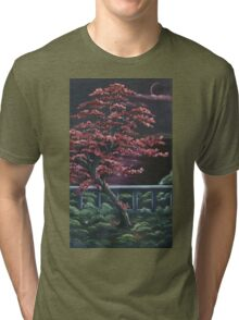 Midnight Blossoms Tri-blend T-Shirt