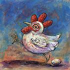 Chicken and Egg by Cindy Schnackel