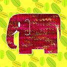 knitty elephant by Trish Peach