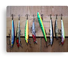 Fish Lures Canvas Print
