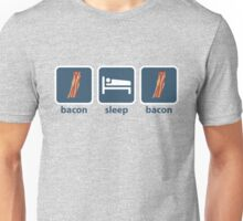 Bacon Sleep Bacon Unisex T-Shirt