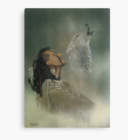 Native american indian Canvas Print