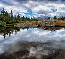 Mountain Reflections by Brian Kerls  photography