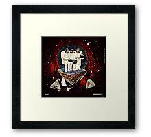 Meteor Apes Framed Print