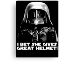Dark Helmet (5) Canvas Print