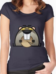 Justin Beaver Women's Fitted Scoop T-Shirt